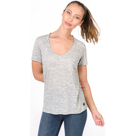 super.natural City Camiseta Mujer, ash melange